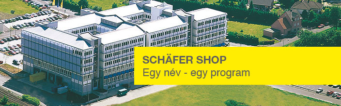 Schäfer Shop - Egy név - egy program