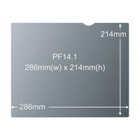 "3M Privacy Filter for 14.1"" Standard Laptop (98044054009)"