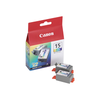 Canon BCI-15 Colour Twin Pack (8191A002)