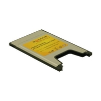DeLOCK PCMCIA Card Reader for Compact Flash cards (91051)