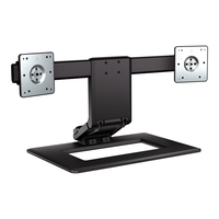 HP Adjustable Dual Display Stand (AW664AA#AC3)