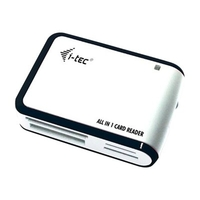 i-Tec USB 2.0 All-in-One Reader - Kartenleser - USB 2.0