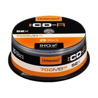 Intenso - CD-R x 25 - 700 MB - Speichermedium