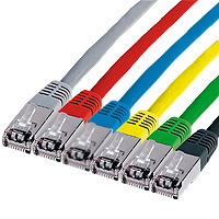 Patch-Kabel CAT5, blau