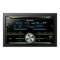 Pioneer FH-X730BT - Auto - Receiver (CD) - in-d...
