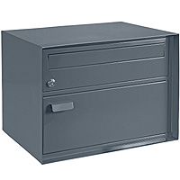 Swiss Mail Box, poudre anthracite