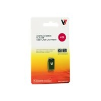 V7 VU28GCR-BLK-2E - USB-Flash-Laufwerk - 8 GB